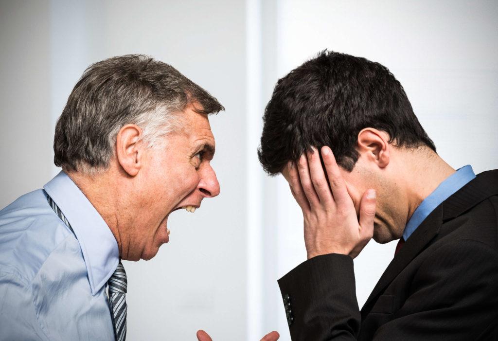 仕事を辞める理由②:上司との人間関係が合わない。