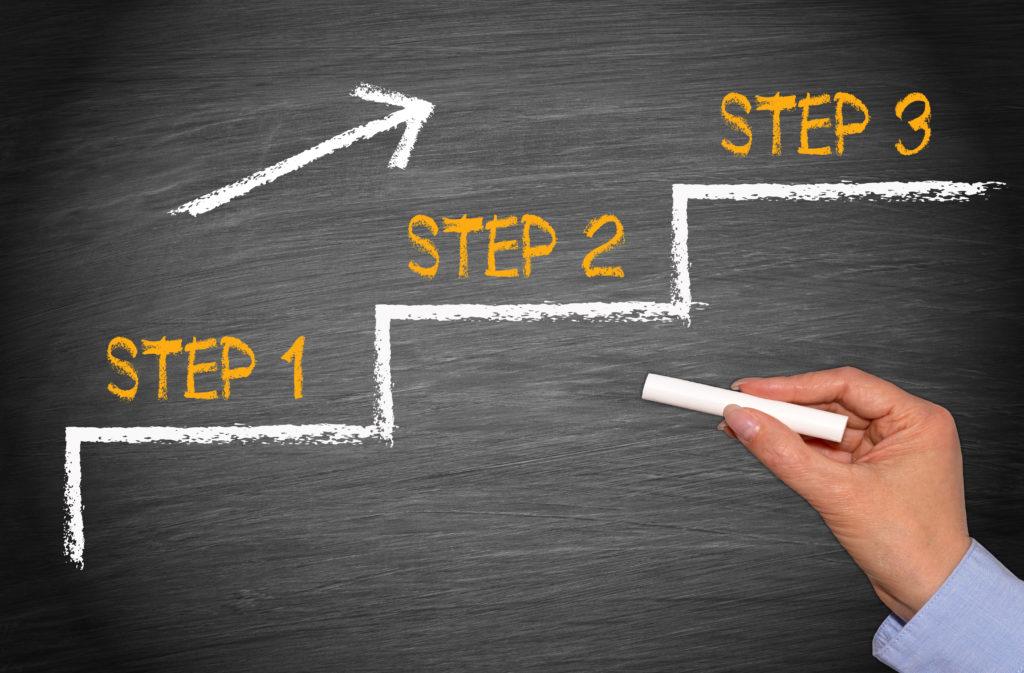 転職エージェントの選び方3STEP
