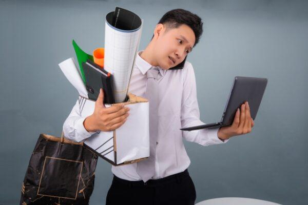 4.仕事がきつすぎる原因ランキング
