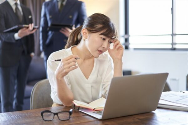 2.仕事がうまくいかない!辞めたい状況に追い込まれる10の原因
